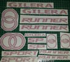 Gilera Runner New Shape SP  Decals/Stickers